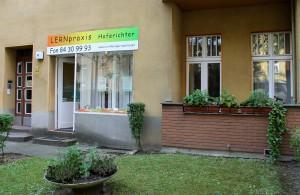 Außenansicht der LERNpraxis Hoferichter in der Haydnstraße