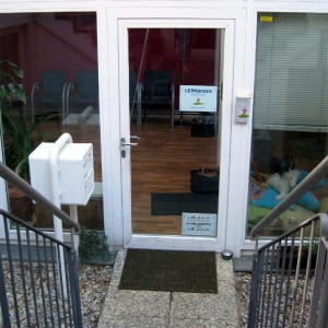 Außenansicht der LERNpraxis Hoferichter in der Marschnerstraße